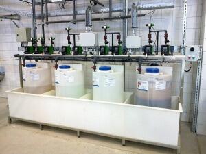 Эксплуатация оборудования для обеззараживания воды в бассейнах